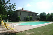 Italy villa with air con and private pool