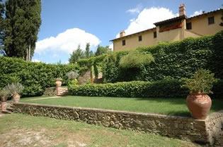 Villa Archi, between Pisa and Florence