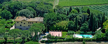 Villa Enea, near Perugia, Umbria with fenced private pool