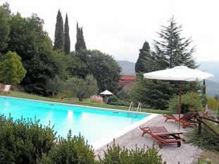 Casa Uscioli, table tennis and private pool