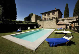 Villa Cerchi with private pool, near Florence to sleep 14