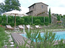 Castelmuzio, villa, sleep 6, private pool