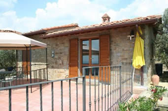 Il Nido de Cu Cu. One of our villas for couples with private pool. Ideal honeymoon villa, private pool, Tuscany.