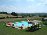 Swimming pool at Santa Vittoria