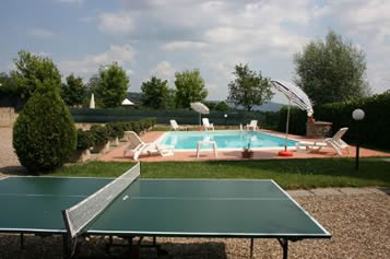 Table tennis  villa with private pool : Il Pasqualino.