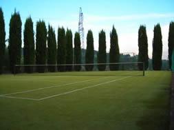Tennis court at Fattoria Pogni