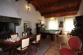 Billiards, private pool: Billiard table at I Cipressi