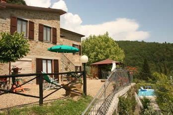 Arcobaleno, villa sleeps 10 with pool and table tennis