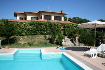 La Tagliola. Villa sleep 12, private pool.