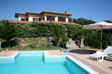 La Tagliola. Villa sleep 12, private pool.