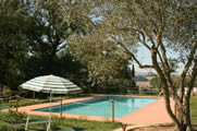 Pool at Casale Vittoria, Umbria