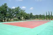 Tennis court at La Contea
