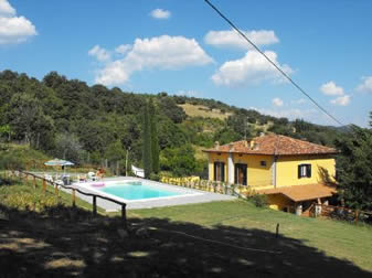 Casa Caldesi, value for money villa, sleep 6, private pool. Near Castiglion Fiorentino