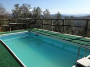 Private pool at La Casina del Bosco