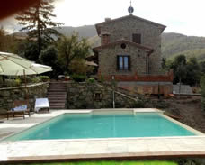 Podere Cantalena, 2 bedroom villa, sleep 6, private pool,