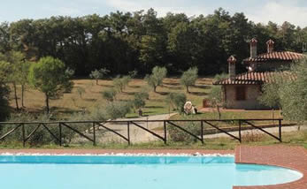 La Casetta nel Bosco. 3 bedroom villa with private pool and airconditioning.