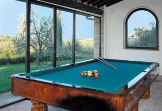 Billiard table villas