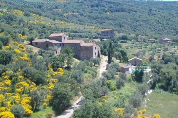 Rent a hilltop village overlooking lake