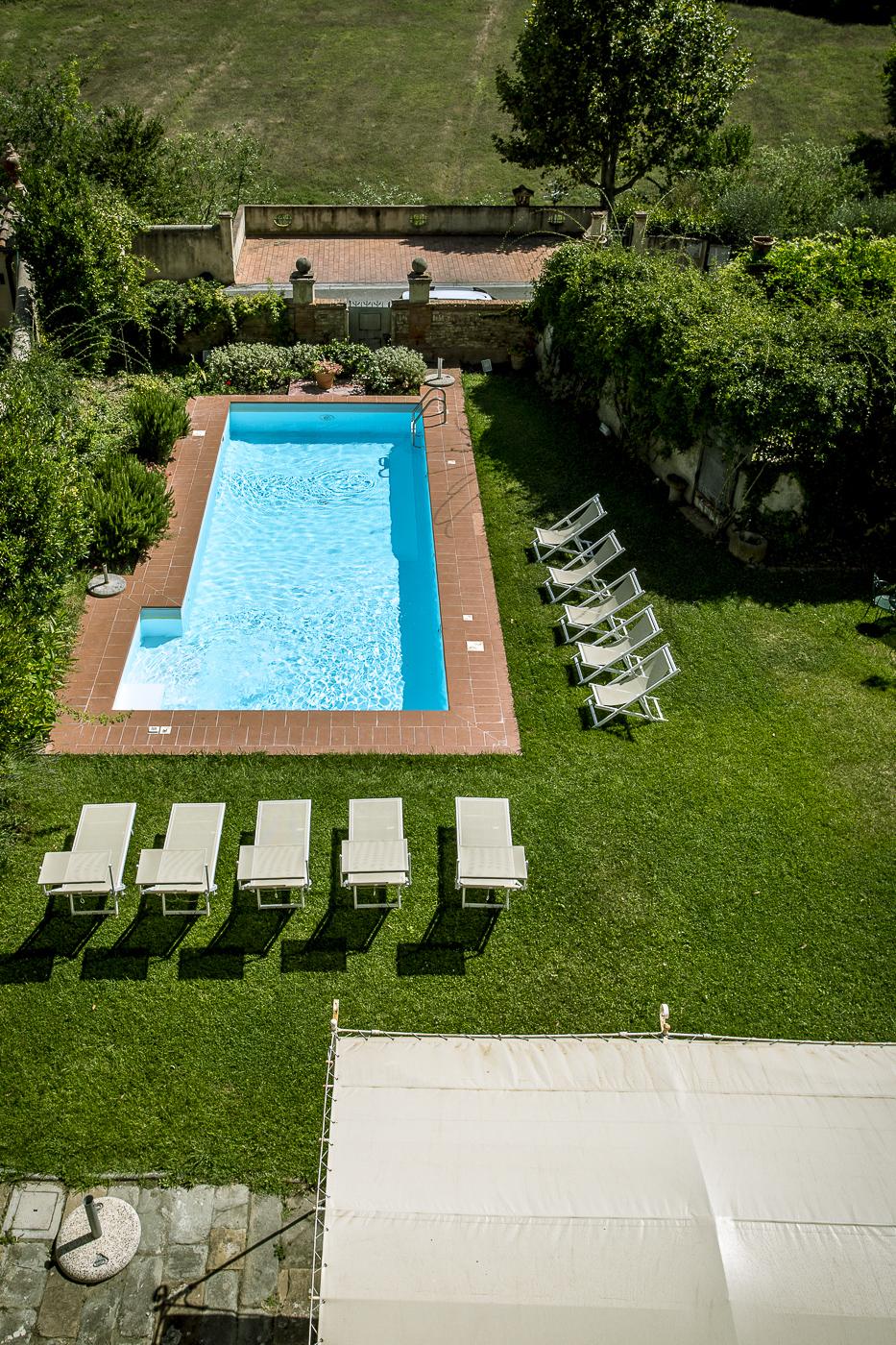 Borgo Cevoli private pool