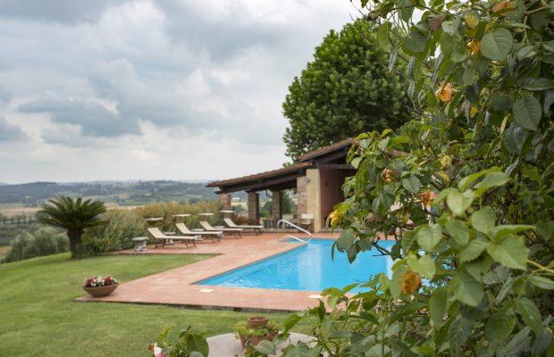 Villa La Cittadella : Poolside