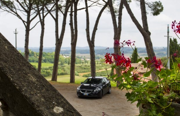 Villa La Cittadella: Private Parking