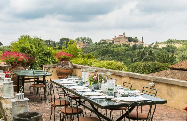 Villa La Cittadella - Outdoor dining