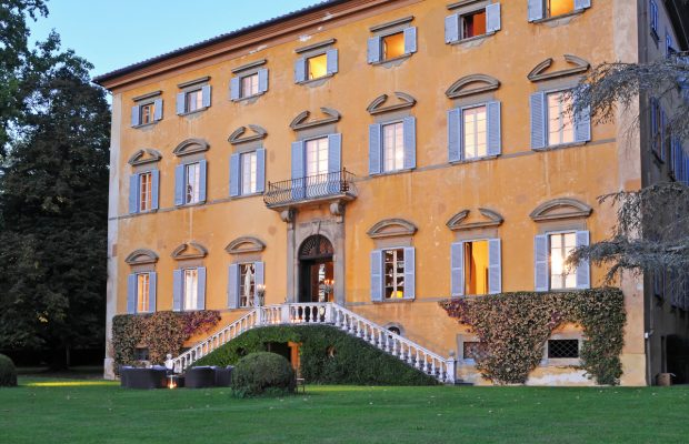 Villa Lungomonte: built in the 15th century as a hunting retreat for the De Medici family