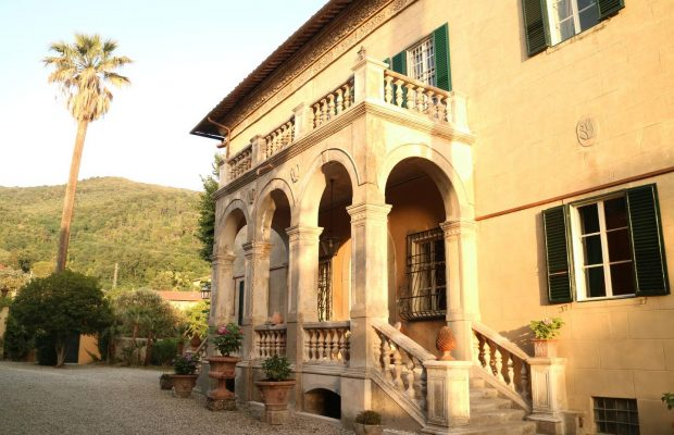 Villa Studiati - Loggia at sunset